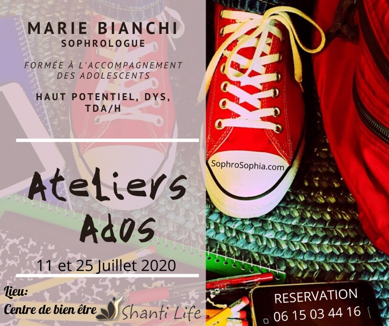 Marie Bianchi Sophrologue Adolescents Antibes